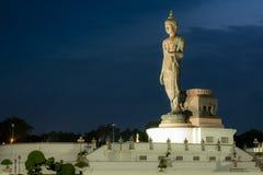 Día importante en concepto de la religión de Buda Fotos de archivo