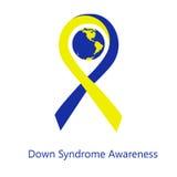 Día internacional de conciencia de Síndrome de Down Fotos de archivo libres de regalías