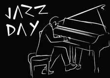 Día internacional del jazz Fotos de archivo