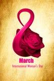 Día internacional del ` s de las mujeres Ilustración del Vector
