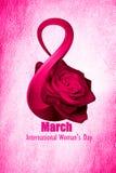 Día internacional del ` s de las mujeres Imagenes de archivo