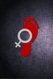 Día internacional del ` s de las mujeres Libre Illustration
