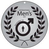Día internacional del ` s de los hombres Fotos de archivo