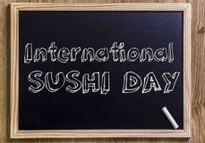 Día internacional del sushi fotos de archivo libres de regalías