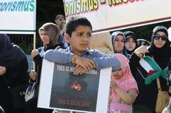 Día internacional 2015-Vienna de Al Quds Fotografía de archivo libre de regalías
