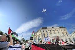 Día internacional 2015-Vienna de Al Quds Fotografía de archivo