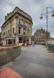 Día laborable usual de la madrugada en Edimburgo Imágenes de archivo libres de regalías
