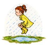 Día lluvioso Fotografía de archivo libre de regalías
