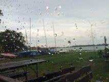 Día lluvioso imagenes de archivo