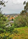 Día lluvioso en el parque Wilson australia fotografía de archivo libre de regalías