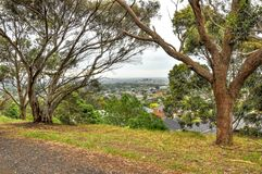 Día lluvioso en el parque Wilson australia imágenes de archivo libres de regalías
