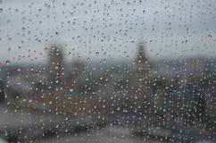 Día lluvioso en Londres imágenes de archivo libres de regalías