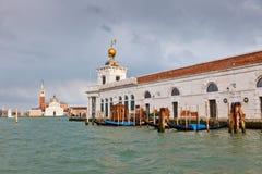 Día lluvioso en Venecia Fotografía de archivo libre de regalías