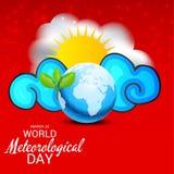Día meteorológico del mundo Imágenes de archivo libres de regalías