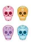 Día mexicano de Sugar Skull muerto 1 Imagen de archivo libre de regalías