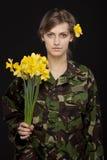 Día militar foto de archivo libre de regalías