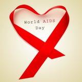 Día Mundial del Sida Fotografía de archivo libre de regalías