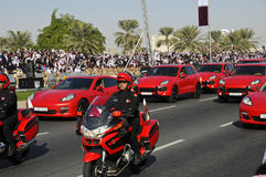 Día nacional 2010 de Qatar Imagen de archivo