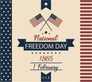 Día nacional de la libertad Imágenes de archivo libres de regalías