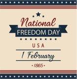 Día nacional de la libertad Imagenes de archivo