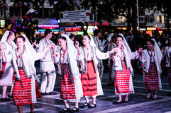 Día nacional de la soberanía y de los niños en Turquía Imágenes de archivo libres de regalías