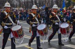 Día nacional de Rumania, el 1 de diciembre de 2017 fotografía de archivo