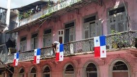 Día nacional en Panamá Foto de archivo