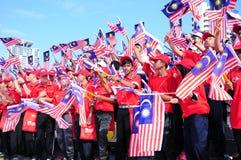 Día nacional malasio 2012 Imagenes de archivo