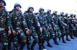 Día nacional malasio 2012 Imagen de archivo libre de regalías