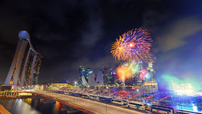 Día nacional, Singapur Fotografía de archivo