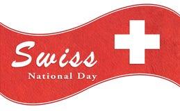 Día nacional suizo Fotos de archivo libres de regalías