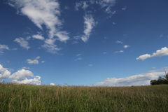 día nublado Fotografía de archivo