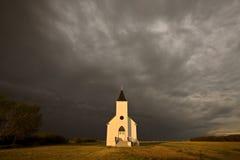 Día nublado de Saskatchewan Foto de archivo libre de regalías