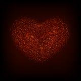 Día o 8 de marzo rojo moderno de las tarjetas del día de San Valentín del vector Fotos de archivo