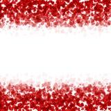 Día o 8 de marzo rojo moderno de las tarjetas del día de San Valentín del vector Foto de archivo libre de regalías