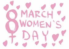 día para mujer Fotografía de archivo
