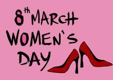 Día para mujer internacional Imágenes de archivo libres de regalías