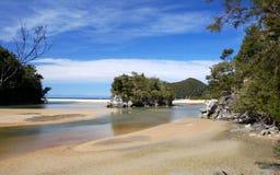 Día perfecto en Abel Tasman Imágenes de archivo libres de regalías