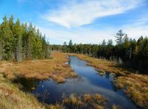 Día pintoresco en el Adirondacks Fotos de archivo libres de regalías