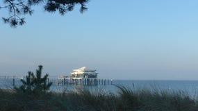 Día por el mar Fotos de archivo libres de regalías