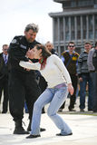 Día rumano de la policía Foto de archivo libre de regalías