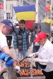 Día rumano en Nueva York Imagen de archivo libre de regalías