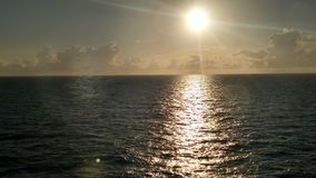 Día soleado de Midsea Imagen de archivo libre de regalías