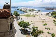 Día soleado del otoño en Rio de Janeiro Imagenes de archivo