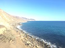 Día soleado en Malibu imagen de archivo libre de regalías