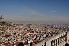 Día soleado en Nápoles Imagen de archivo libre de regalías