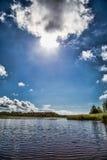 Día soleado en Suecia Karlstad Foto de archivo libre de regalías