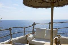 Día soleado en una isla mediterránea Foto de archivo libre de regalías