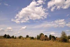 Día soleado en verano tardío Imagen de archivo libre de regalías