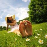 Día soleado y ocio Imagenes de archivo